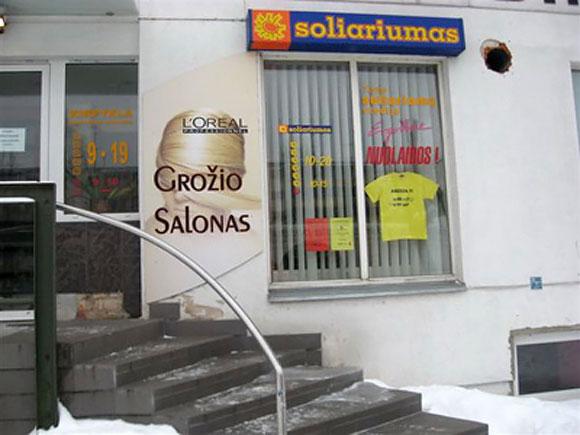 Prostitutės sulaikytos grožio salone