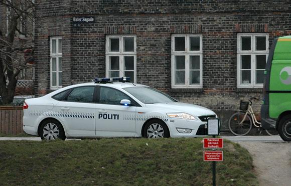 Danijos policija. Kopenhaga