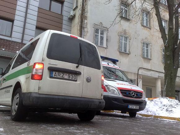 Nelaimės vietoje Švitrigailos g. 2010.03.02