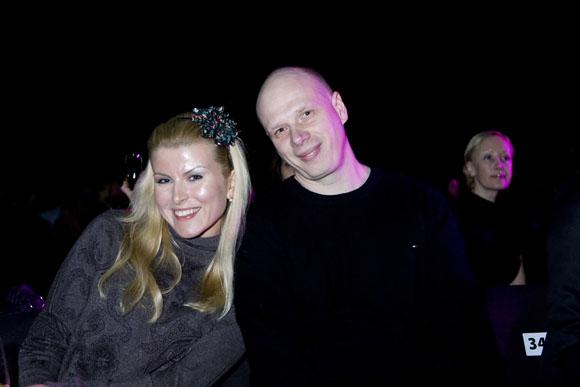 Rūta Mikelkevičiūtė su vyru Rolandu Remeikiu
