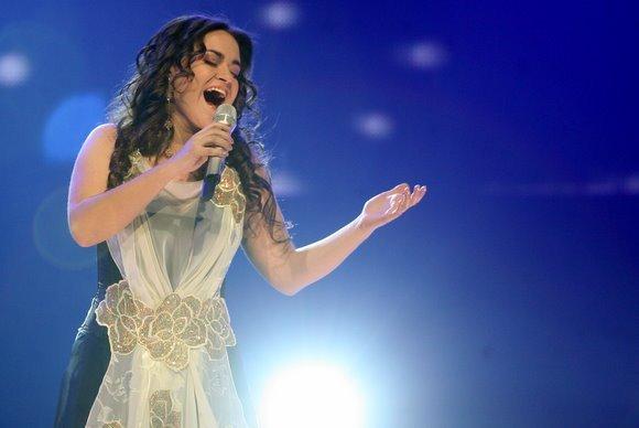 Juliaus Kalinsko/15 minučių nuotr./Eurovizijos nacionalinės atrankos finalo akimirka