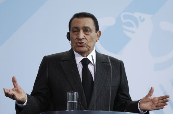 Egipto prezidentas Hosnis Mubarakas