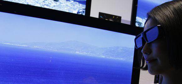 3D televizorius