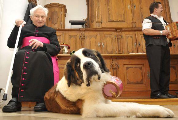 Benedikto XVI vyresnysis brolis Georgas Ratzingeris