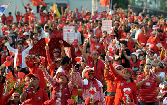 Protesto Tailande akimirka