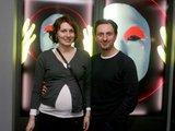 Irmanto Gelūno/15min.lt nuotr./Dainius Kazlauskas su žmona Indre