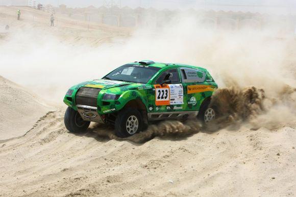 Ralio maratonų čempionatas Abu Dabyje, antroji diena