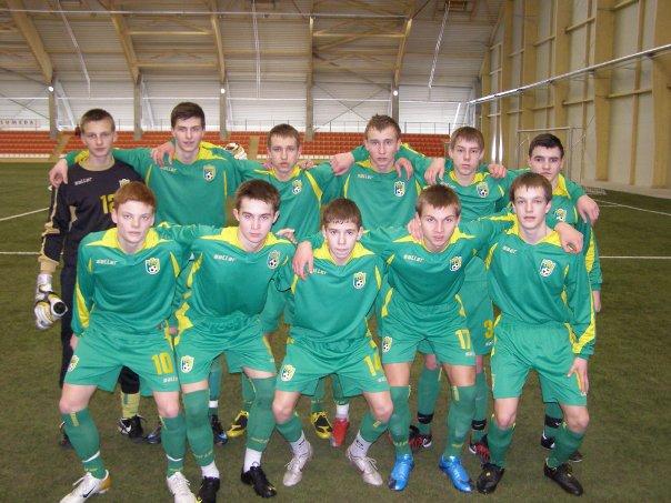 Lietuvos jaunių (iki 17 metų) futbolo rinktinė Baltarusijoje sužais dvejas rungtynes