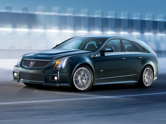 """Cadillac CTS Sport Wagon"" – šeimos automobilis su 556 AG"