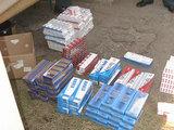 Švenčionių policijos nuotr./Kontrabandinės cigaretės