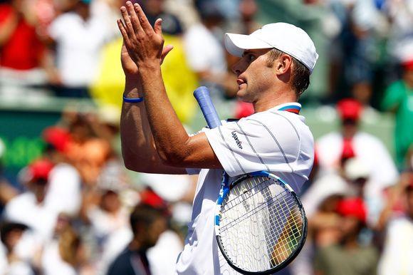 A.Roddickas triumfuoja