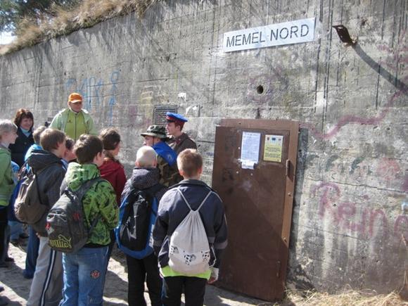 A.Kripaitės nuotr./`eatadienį Giruliuose atgijo buvusi Memel Nord baterija.