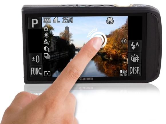 """""""Canon"""" fotoaparatas """"Ixus 210""""."""