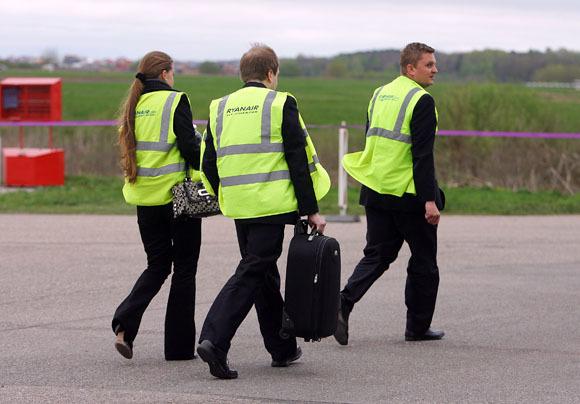 """Aliaus Koroliovo nuotr./""""Ryanair"""" bazės Kauno oro uoste atidarymas"""