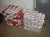 VSAT nuotr./Kontrabandinės cigaretės
