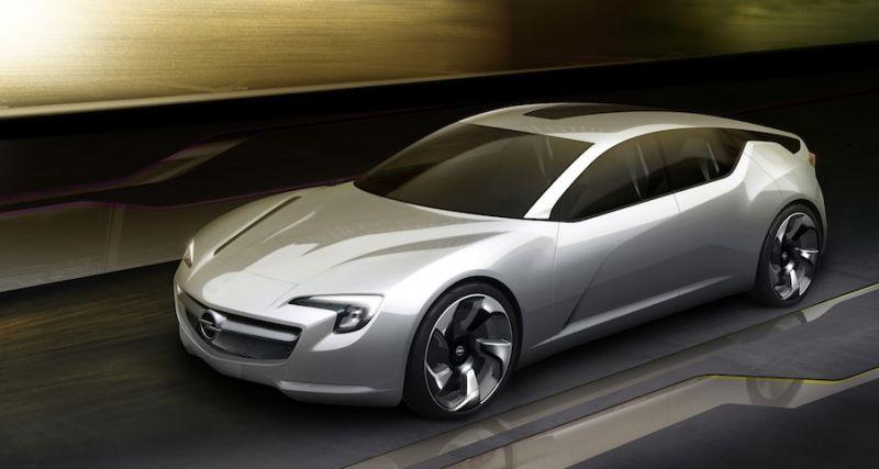 """Opel Flextreme GT/E"" koncepcija – didelis hibridas"