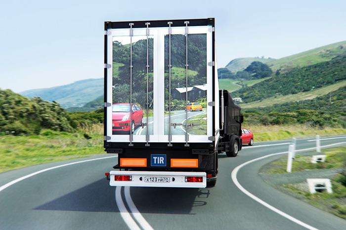 Rusai siūlo krovininių automobilių lenkimo problemos sprendimą