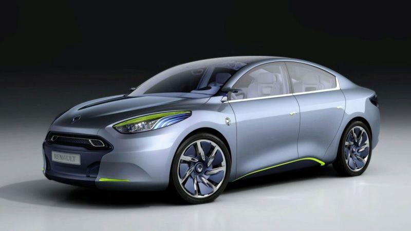 """Renault Fluence Z.E. Concept"" – iš parodos į gamyklą"