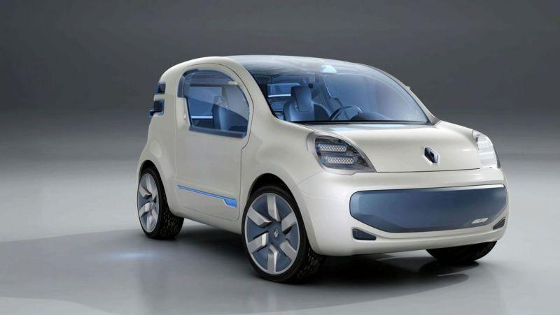 """Renault Kangoo"" šeima laukiasi elektromobilio"