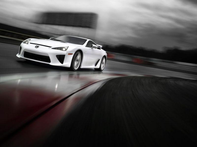 """""""Lexus LF-A"""" – žingsnis į superautomobilius"""