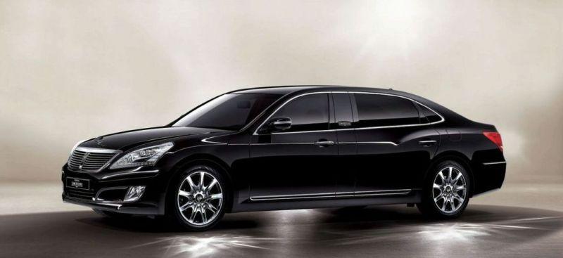 """Hyundai EQUUS Stretch Edition"" – grėsmė vokiečiams"