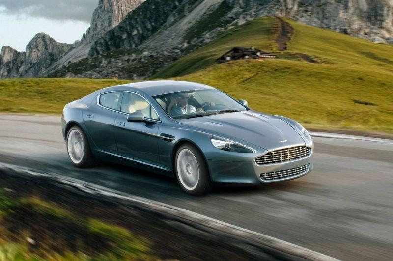 """Aston Martin Rapide"" paruoštas gamybai"