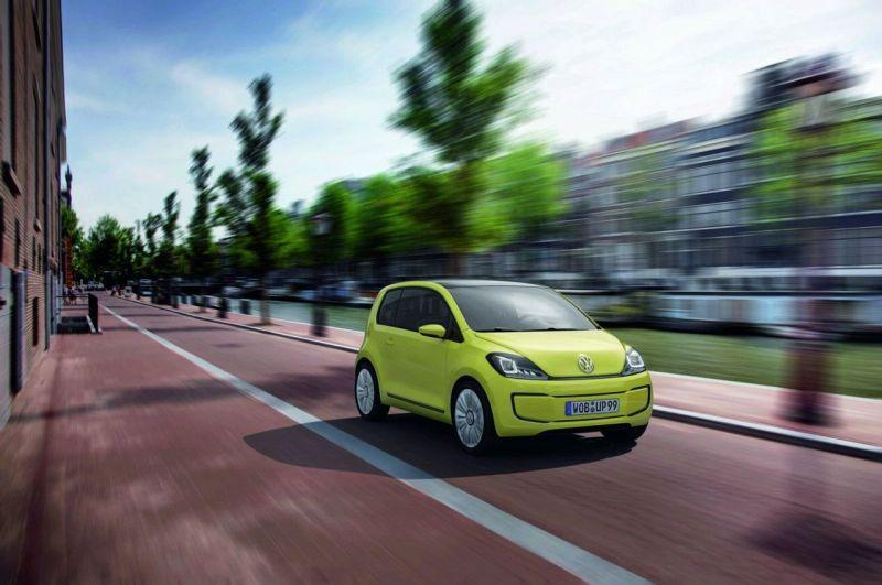 """Volkswagen E-Up!"" koncepcija – kol kas tik parodos stende"