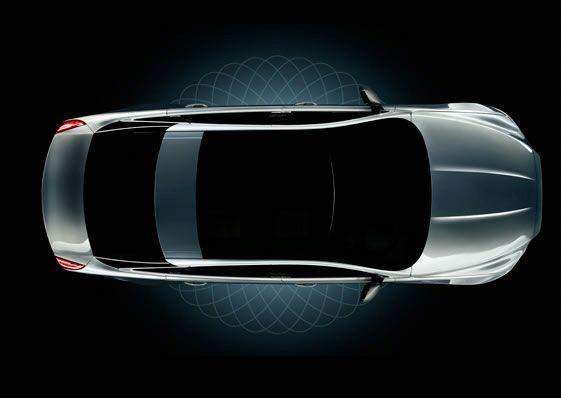 """Naujasis """"Jaguar XJ"""" – pirmoji užuomina"""