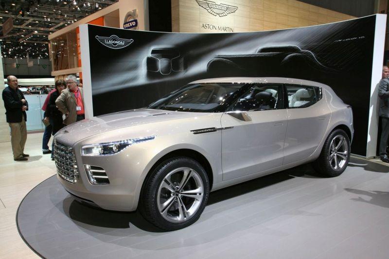 """Ženeva 2009: """"Aston Martin Lagonda"""" koncepcija skirta jubiliejui paminėti"""