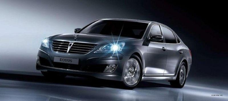 """Hyundai Equus"" lygiuosis į ""Lexus"" ir ""Mercedes-Benz"""