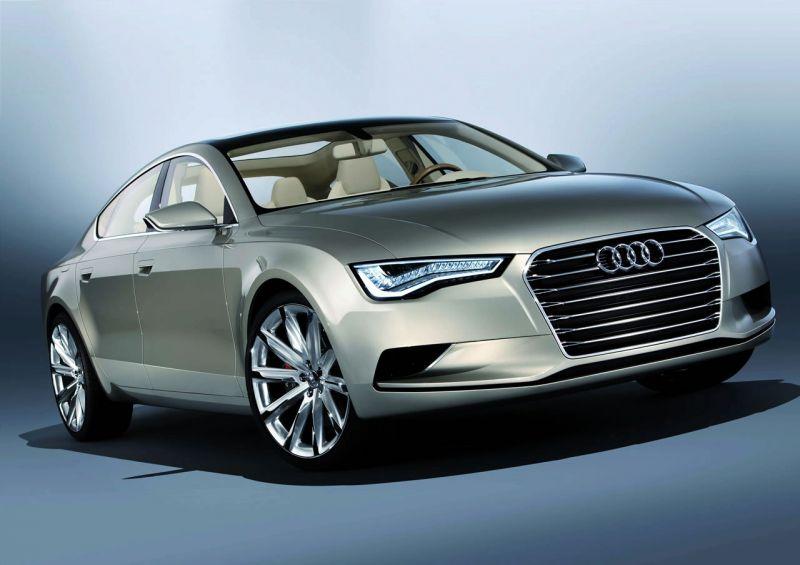 "Oficialiai pristatytas ""Audi Sportback Concept"""