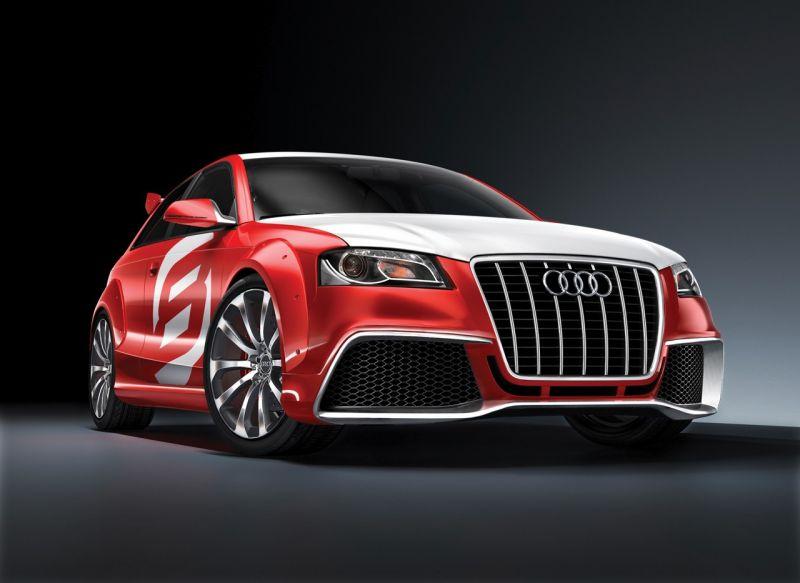 "Įspūdingasis ""Audi A3 TDI Clubsport Quattro"""