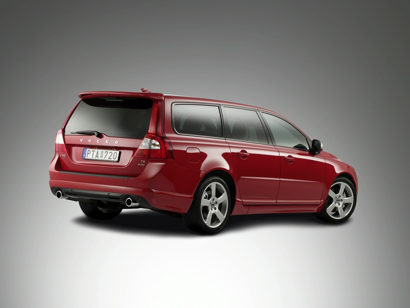"Pristatytas ""Volvo V70 R-Design"""