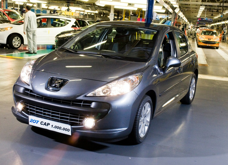 "Pagamintas milijoninis ""Peugeot 207"""
