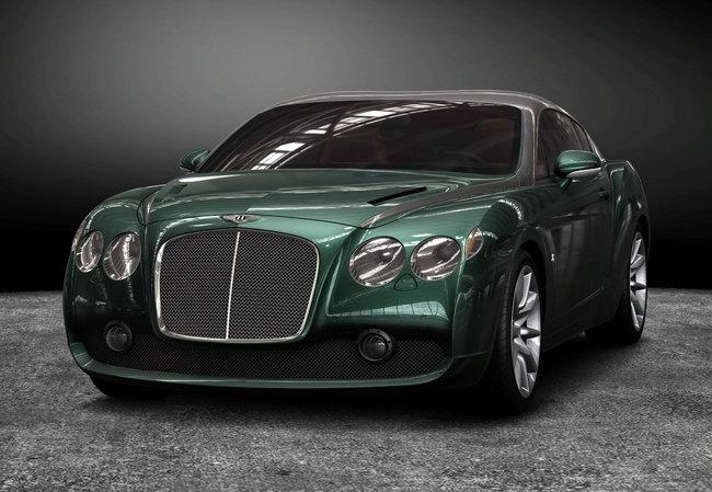 "Bendras ""Zagato"" ir ""Bentley"" kūrinys – ""Continental GT Speed"""