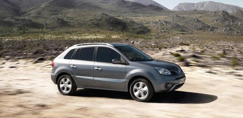 """""""Renault Koleos"""" – pirmasis prancūzų gamintojų visureigis"""