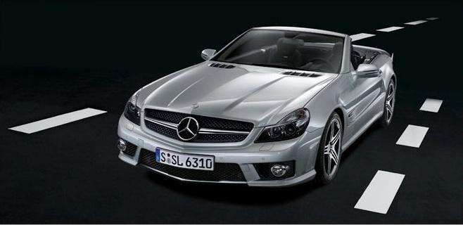 "Išplatintos ""Mercedes SL 63 AMG"" nuotraukos"