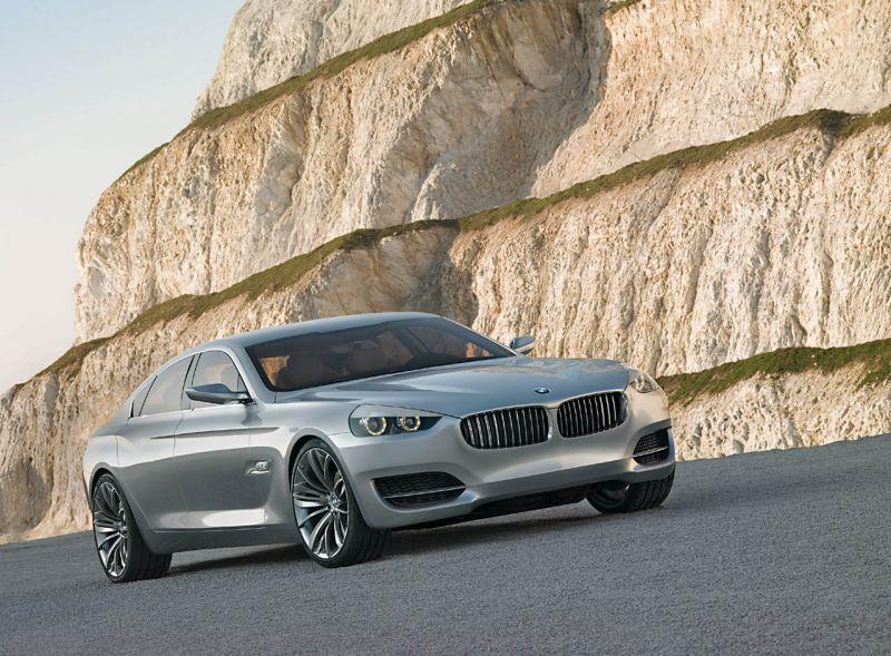 """""""BMW CS Concept"""" turėtų pasirodyti 2010 metais"""
