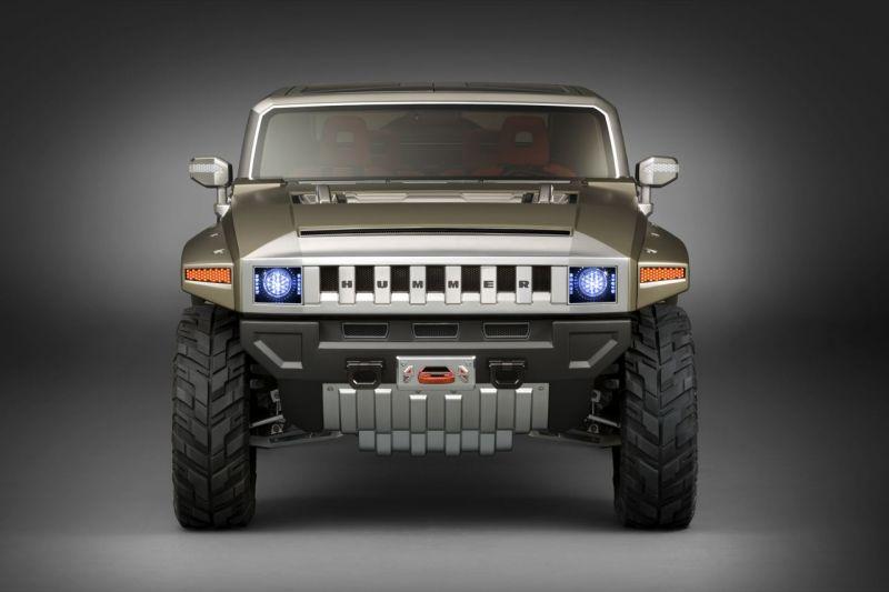 """Hummer HX"" – naujasis koncepcinis visureigis"