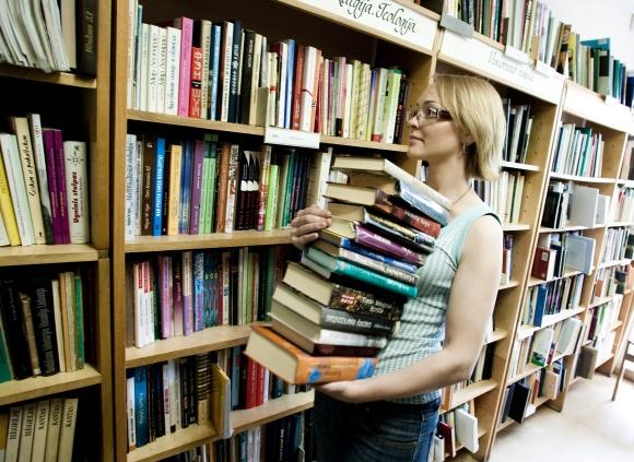 bibliotekos prekybos sistema)