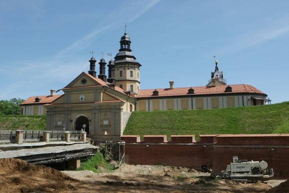 Kęstučio Vanago/BFL nuotr./Radvilų pilis Nesvyžiuje