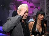 Organizatorių nuotr. /Fidelio Platinum vakarėlis: E.Bžeskas su drauge