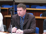 A.Kripaitės nuotr./Atvirą laišką presidentei pasirašė ir tarybos narys Viačeslavas Titovas.