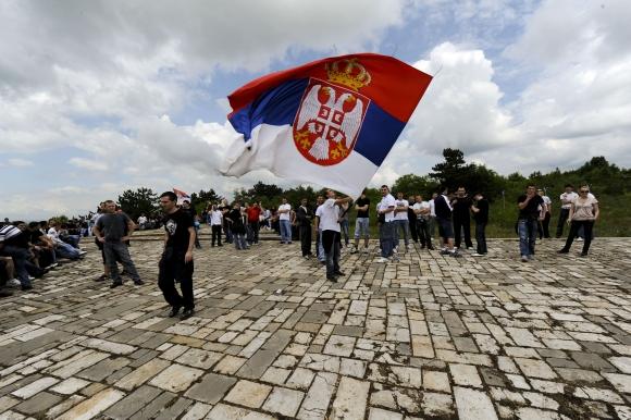 Serbai paminėjo Kosovo mūšio metines.