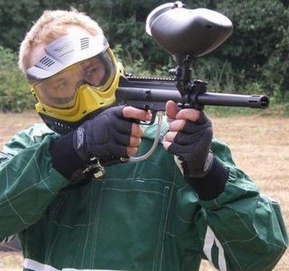 Dažasvydžiui naudojamas šautuvas