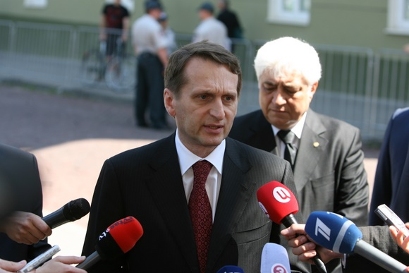 Rusijos prezidento Dmitrijaus Medvedevo administracijos vadovas Sergejus Naryškinas