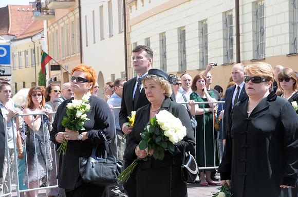 Algirdo Brazausko laidotuvės