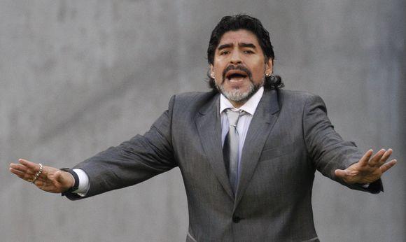 Diego Maradona vėl gandų apsuptyje