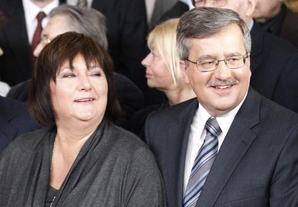 Bronislawas ir Anna Komorowskiai