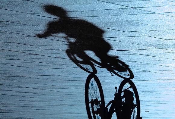 Andriaus Ufarto/BFL nuotr./Dviratis, dviratininkas